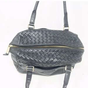 Cole Haan Bags - Cole haan Sam woven leather satchel